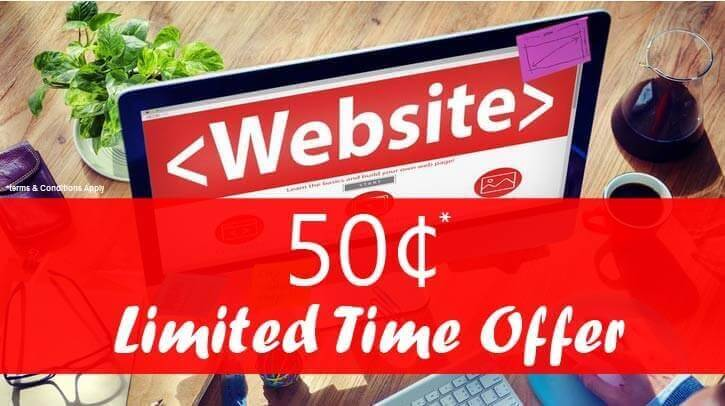 A Complete Website in 50 Cents