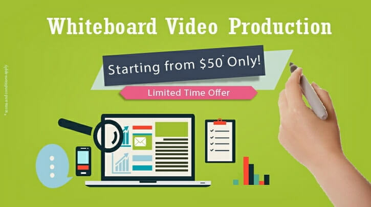 Whiteboard Video Production Offer